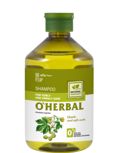 CHAMPÚ CABELLO RIZADO Y REBELDE O'HERBAL 500ML