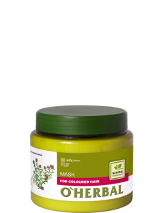 MASCARILLA CABELLO TEÑIDO O'HERBAL 500ML