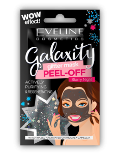 MASCARILLAS GALAXITY GLITTER PEEL-OFF