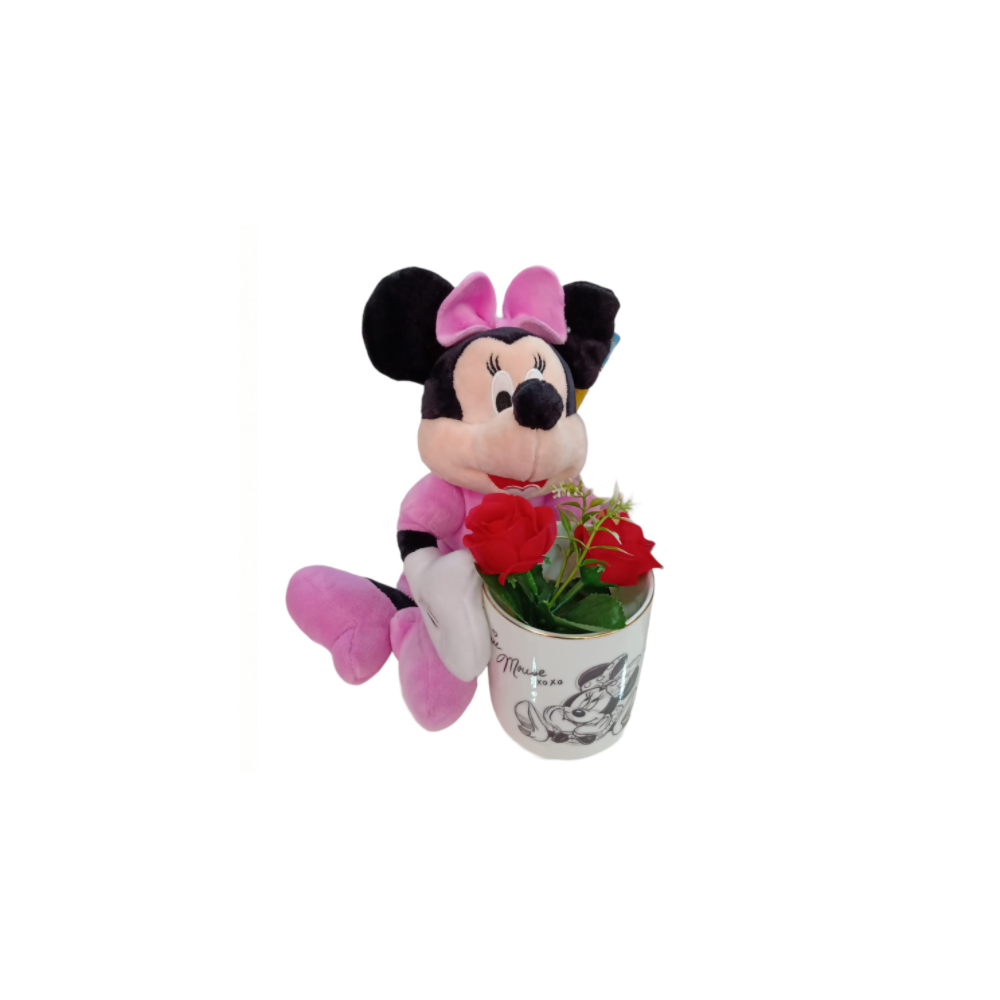 Minnie + Taza Minnie De Luxe